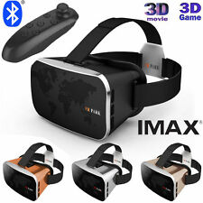 2016 3D VR PARK Virtual Reality V3 Phone TV Video Glasses + Bluetooth Gamepad