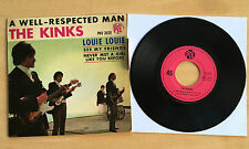 45T THE KINKS - A WELL-RESPECTED MAN ( AVEC LANGUETTE) - EXCELLENT ETAT