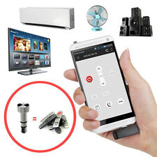 Universal Mini Fernbedienung IR Infrarot Wireless TV/HiFi/DVD Über iPhone Silber