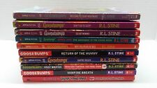Goosebumps by R.L. Stine 10 Book Lot Vampire Breath Ghosts of Fear Street etc