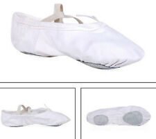 Ballet Shoes Slippers Canvas Suitable For Children,Adult Gymnastic Shoes White