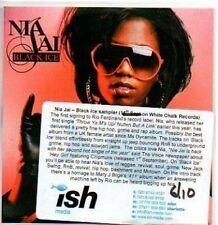 (633H) Nia Jai, Black Ice sampler - DJ CD