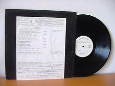 "EVIDENCE ""The Evidence"" Promo WHITE LABEL TEST PRESSING LP 1979 (SRM-1-3767)"