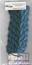 10%Off Dinky Dyes Silk Thread for Northern Expression Design-Shades of Turquoise