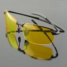 2017 HD Night Vision Driving Glasses Polarized Aviator Sunglasses Riding Eyewear