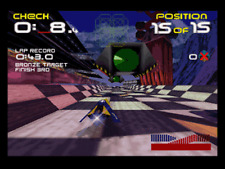 Wipeout 64 - Nintendo N64 Game