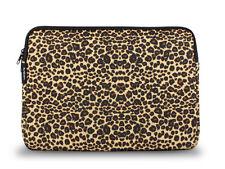Lavolta Leopard Laptoptasche Notebook Tasche Hülle für Laptop bis zu 15,6 Zoll