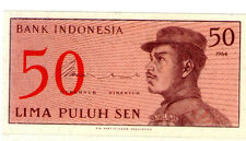 Indonesia 50 cent  Banknote UNC 1964