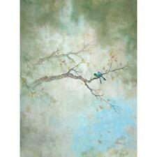 5x7FT Vinyl Tree Branch Bird Painting Backdrop Studio Photography Background