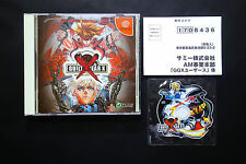 GUILTY GEAR X + Mini CD Sega Dreamcast JAPAN Very.Good.Condition !