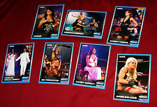Lot of 7 Mint TNA Signature Impact Wrestling Cards