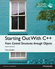 NEW Starting Out with C++ From Control Structures Through Objects 8E Tony Gaddis