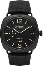 BRAND NEW AUTHENTIC PANERAI RADIOMIR 8 DAYS CERAMICA MENS WATCH SALE | PAM00384