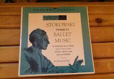 Leopold Stokowski Ballet Music Le Spectre De La Rose EP RCA ERB-7022 NM