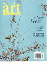 SOUTHWEST ART MAGAZINE   AUGUST, 2016  (THE COLLECTOR'S CHOICE FOR OVER 40 YEARS