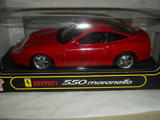 Anson 30323-W Ferrari 550 Maranello Red 1/18 Mint & Boxed