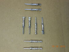 Lot of 100 TE Connectivity / AMP 1-66099-5 Series III 18-16 AWG Tin Crimp Pins
