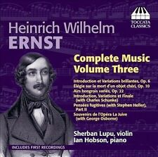 Ernst Complete Music Vol. 3, New Music