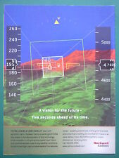 2/2000 PUB ROCKWELL COLLINS AVIONICS AIRLINES MILITARY SYNTHETIC VISION AD