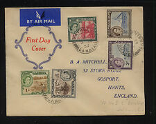Gambia  nice  cachet  cover   1953    MS0329