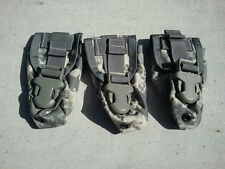 LOT OF 3 NEW US Army ACU flashbang MOLLE II ACU Flashbang Grenade Pouch NEW