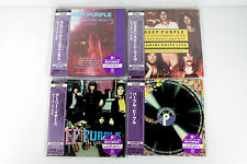 DEEP PURPLE ~ JAPAN MINI LP CD, LOT OF 4 ALBUMS, ORIGINAL, OOP