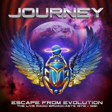 JOURNEY - ESCAPE FROM EVOLUTION (THE LIVE RADIO BROADCASTS)  2 CD NEU