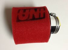 """UNI UNIVERSAL ANGLED 2 STAGE POD AIR FILTER FITS 1-1/4"""" FREE SHIPPING!"""