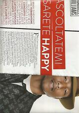 SP69 Clipping-Ritaglio 2014 Pharrell Williams Ascoltatemi e sarete happy