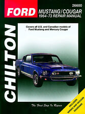 Chilton Ford Mustang / Cougar 1964 - 1973 1965 1966 1967 1968 1969 1970 1971 72