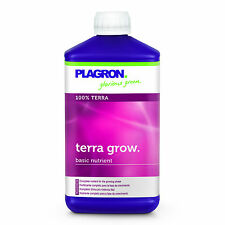 PLAGRON TERRA GROW 1000ml 1L FERTILIZZANTE CRESCITA VEGETATIVA GROW FERTILIZER