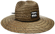 Billabong Men's Tides Straw Hat, Outdoor Summer Beach Fashion Accessories New