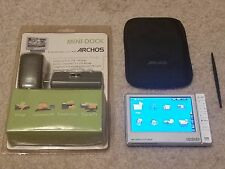 ARCHOS 605 80GB WIFI DIGITAL MEDIA MP3 PLAYER WITH BRAND NEW MINI DOCK