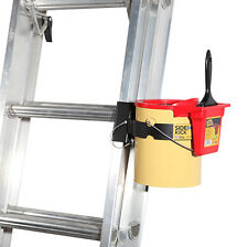 360 Products Combo-Paint Can Holder for an Extension Ladder w Paint Brush Holder