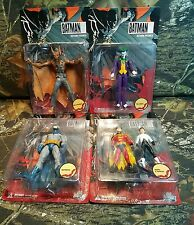 2007 DC DIRECT BATMAN AND SON ROBIN DAMIAN JOKER NINJA MANBAT SET SEALED RARE