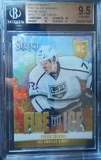 2013-14 Tyler Toffoli BGS 9.5 #D /10 Panini Select GOLD FIRE ON ICE Rookie KINGS
