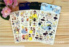 Cute sweet Deco Fairytale Princess novelty gift DIY Craft Diary Phone stickers