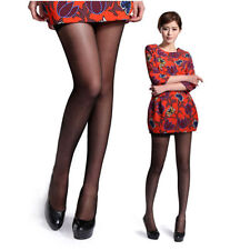 Women Sexy Shiny Stockings Pantyhose Tights Breathable Hosiery High Sock Black