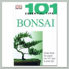Bonsai Trees, Tools, Instruction: 101 Essential Bonsai Tips Book from Joebonsai