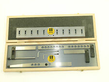 Fowler/Sylvac4 Piece Holder Set with Stand for Z-CAL II Height Gage