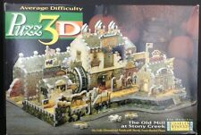 Puzz 3D Puzzle Charles Wysocki The Old Mill At Stoney Creek 745 Pieces Avg
