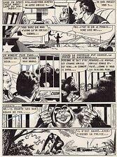 JOHN DOE LE GORILLE  PLANCHE DE MONTAGE AVENTURES FICTION ARTIMA 1959 PAGE 2