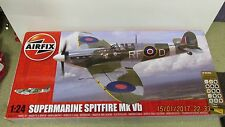 AIRFIX Supermarine Spitfire MKVB 1:24 set regalo A50141 su larga scala modello