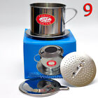 Vietnamese Coffee Phin Filter Press Maker - Stainless Steel - Large Size 9