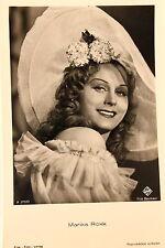 21460 Ross Film Foto AK 3707/2 Marika Rökk Southern Belle Hut um 1940 photo PC