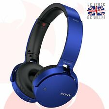 GENUINE Sony MDR-XB650BT Bluetooth Extra Bass Headphone - BLUE *UK* XB650BT