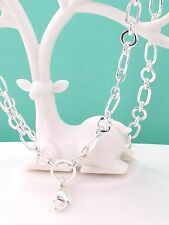 """32"""" art deco silver chain, silver plated best quality . origami owl style"""