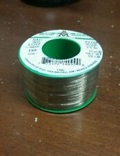 """AIM Castin Wire Solder Lead and Bismuth Free, .015"""" Glow Core 2.5%"""