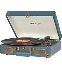 NEW Crosley Cruiser 3-Speed Portable Turntable - Indigo