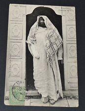 CPA CARTE POSTALE 1903 TUNISIE COLONIES FRANCE AFRIQUE MAURESQUE COSTUME VILLE